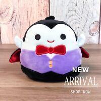 "Kellytoy Squishmallow 4.5"" Vince the Vampire Dracula NEW Halloween LT ED HTF"