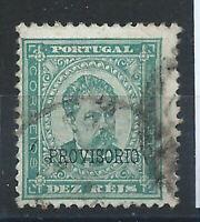 "Portugal N°79 Obl (FU) 1892-93 ""Carlos 1er "" Surcharge PROVISORIO"