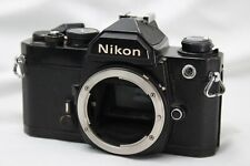 *As Is* Nikon FM SLR Film Camera Body Only *Working* #MS08a
