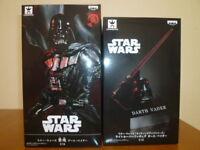 Star Wars GOUKAI Darth Vader Lighting Up Series Light Saver Figure Set Banprest