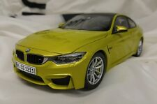 BMW M4 Coupe F82 Austin Yellow 1:18 80432339606 OEM NEW IN BOX