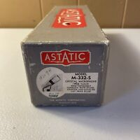 Vintage Astatic M-332-S Crystal Microphone High Impedance BOX ONLY