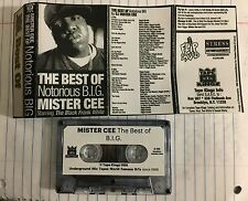 DJ Mister Cee The Best of BIG Tape Kingz Mixtape Cassette Biggie Notorious 90s