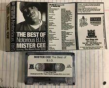 DJ Mister Cee The Best of BIG Tape Kingz Mixtape Cassette Biggie Notorious 90s