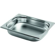 Saro Gastronormbehälter Edelstahl 1/2 GN 100 mm tief 126-5100