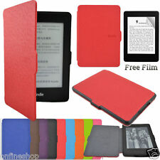 Smart Ultra Slim Magnetic Case Skin Cover for Kindle Paperwhite+Screen Film Hot!