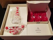 New Partylite P95294 Sweets and Treats Gift Set Santa Candle Snuffer