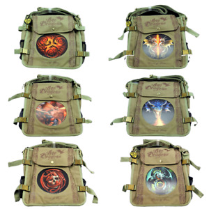 New Anne Stokes Age Of Dragons 3D Lenticular Gothic Art Travel Shoulder Bags
