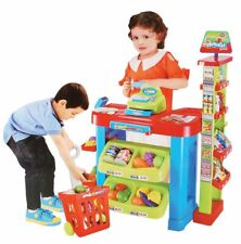 Role Play Kitchen Supermarket Play Set Children's Roleplay Toy Ages 3+