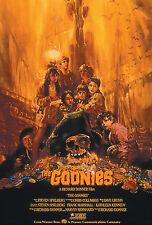 - THE GOONIES MOVIE Film Posters Print 260gsm