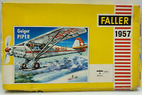 AVIATION : GEIGER PIPER MODEL KIT MADE BY FALLER (BY)