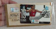Vintage 1996 At&T Olympics Atlanta Prepaid Calling Card Orig Pkg Perfect