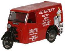 76tv005 Oxford Servizio di energia elettrica Triciclo Van 00 Gauge = SCALA 1/76 NUOVO in caso