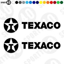 TEXACO Vinyl Decal / Sticker - Eggenberger Ford Sierra Cosworth RS500 2217 0219