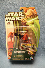 Star Wars Movie Heroes 2013 Wave 1 - MH04 Battle Droid - Canadian Yoda Card