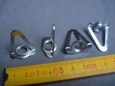 2 bélière simple en acier (lot de 2) crochet de suspension de lustre (réf B)