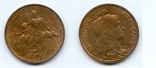 **Gertbrolen  10 Centimes Type Dupuis  1898  Superbe à Fleur de Coin
