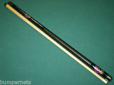 New Chic Black & Fuchsia Players Pool Cue 18 19 20 21 oz Billiards Stick F-2770