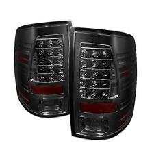 Pair Tail Lights Dodge Ram 1500 2009-2012 Ram 2500 3500 2010-2012 LED - Smoke