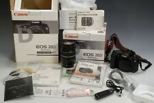 Canon EOS 20d Digital Camera with EFs17-85 lens Barely Used in Original Packages