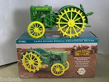JOHN DEERE JD D TRACTOR 75th ANNIVERSARY EDITION NEW IN UNOPENED BOX 1/16 ERTL