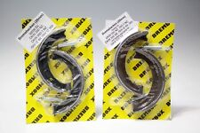 2 Brake Shoes Sets (Front and Rear) with Spring DKW 350 NZ, 350-1 NZ, Ish IZ 49
