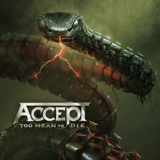 Accept Too Mean to Die CD 2021 Release Metal