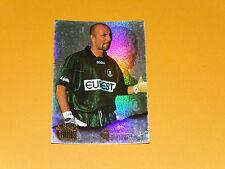 FABIEN BARTHEZ AS MONACO ASM LOUIS II ROCHER FOOTBALL CARD PANINI 1996-1997