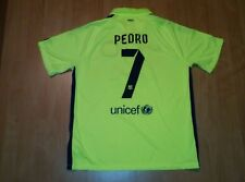 BARCELONA SPAIN 2014 / 2015 #7 PEDRO FOOTBALL SHIRT JERSEY THIRD NIKE SIZE XL