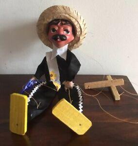 Fantastic Vintage Composition Mexican Puppet