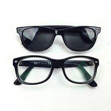 Ray-Ban Jr RB 1528 3542 Kid's Black Square Rx Eyeglasses Frames, Boys Girls