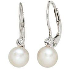 Beschichtete echte Perlen-Ohrschmuck für Damen