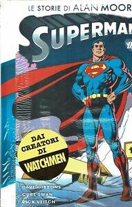 SUPERMAN le storie di Alan Moore NUOVO ed. Planeta