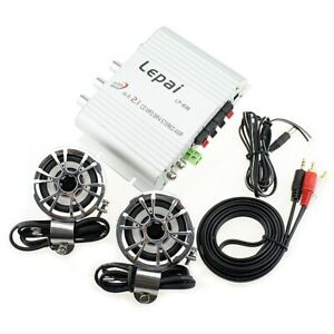 200W Mini Radio MP3 Stereo Car Bike Hi-Fi Amplifier 12V