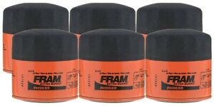 Fram Extra Guard PH9688 Spin-On Oil Filter - (Pack of 6)