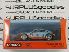 Tarmac Works 1:64 2020 Release Gulf 2018 Porsche 911 Gt3 R (991) #24 w/Container
