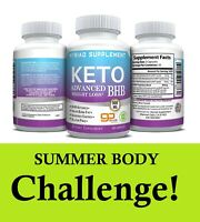 Keto Diet Pills BHB - Advanced Ketogenic Weight Loss Fat Burner in 3 Months