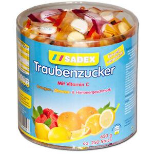 (11,18€/1kg) Sadex Traubenzucker Bonbons ca. 250 Stk einzeln verpackt