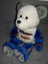 Jeremy McGrath Thor Hot Wheels Bear Plush Dreamco 2000. RARE