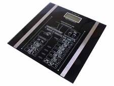 NEW DIGITAL BODY FAT WEIGHT LOSS ANALYSER SCALE BMI 150KG WEIGHING GYM MACHINE