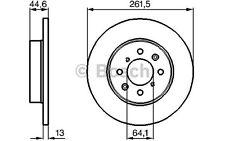 BOSCH Juego de 2 discos freno Antes 262mm ROVER 45 25 400 200 MG 0 986 478 889
