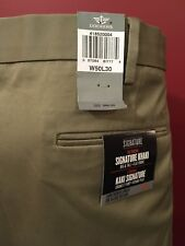 DOCKERS Men's Big & Tall Signature Flat Front Khakis - Size 50W x 30L - NWT $85