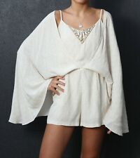 Camilla Embellished Playsuit With Cape - Brand New - Size 10