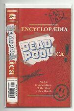 (1998) MARVEL ENCYCLOPAEDIA DEADPOOLICA A-Z DEADPOOL ENCYCLOPEDIA - VF+
