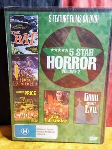 The Bat/ House on Haunted Hill/ Shock/ Lady Frankenstein/ Good Against Evil DVD