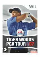 Tiger Woods PGA Tour 07 (Wii), Very Good Nintendo Wii, Nintendo Wii Video Games