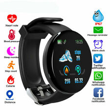 Men Women Smart Watch Fitness Tracker Bracelet Sleep For iPhone Android Samsung
