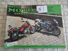 REVUE TECHNIQUE MOTO Kawasaki BN 125 Eliminator / Suzuki GSX-R 600