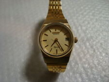 Citizen Seven Quartz Ladies gold plated watch