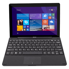 """NEXTBOOK 10.1"""" QUAD CORE WINDOWS TABLET WITH KEYBOARD - BLACK"""